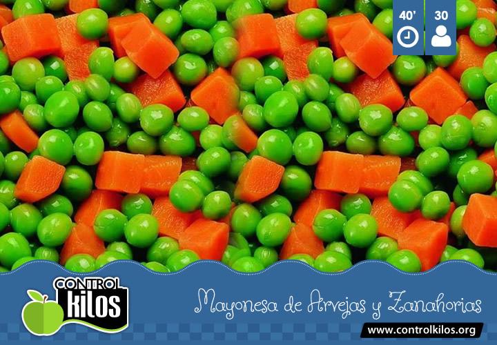 Receta-Mayonesa-Arvejas-Zanahorias